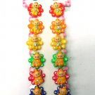 hair accessories clip claw green pink red blue yellow orange 12
