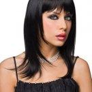 Wig Shoulder Length Black