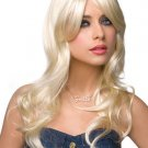Blonde Side Bang Wig Long