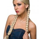 Double Braid Country Girl Dorothy Wig Blonde