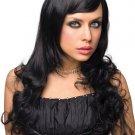 Beautiful Wavy Long Black Wig