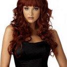 Flirty Curls Long Wig Auburn