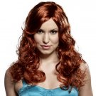 Red Hot Curly Wig
