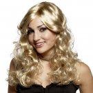 Wavy Curly Blonde Wig