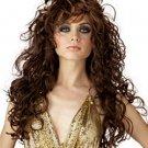 Brunette Beauty Wavy Long Wig
