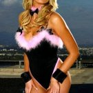 Playful Pink Pussy Cat Four Piece Costume Set