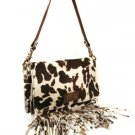 Dolce and Gabbana Cow Skin Shoulder Bag
