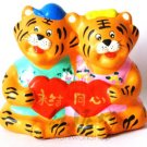 Hand Painted Clay Doll  a0967 tiger