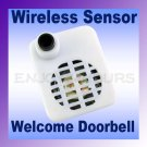 Security Wireless Sensor Welcome Doorbell ‹(•¿•)›
