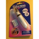 Light Up Tweezers with Magnifier ø,¸¸ ‹(•¿•)›¸.,ø