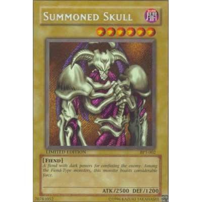 Summoned Skull BPT-002 Limited Edition Yu-Gi-Oh card