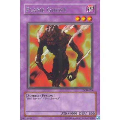 Flame Ghost LOB-029 Rare Yu-Gi-Oh Card