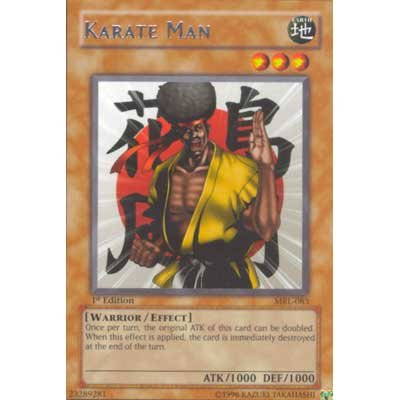 Karate Man MRL-083 Rare 1st Edition Yu-Gi-Oh Card