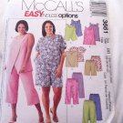 McCall's Easy endless options pattern 3661