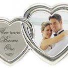 Romantic Two Hearts Silver Love 2X3
