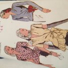 Retro Butterick '44 Pattern