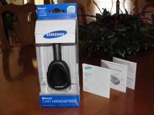 Samsung Bluetooth Handsfree Portable Car Kit