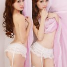 Layers of love! 4-style white garter set