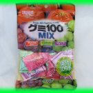 FRUIT MIX GUMMY CANDY - APPLE, GRAPE & MUSCAT FRUIT