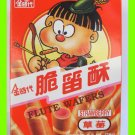 STRAWBERRY FLUTE WAFERS BISCUIT - USA SELLER