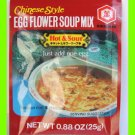 KIKKOMAN CHINESE STYLE HOT & SOUR EGG FLOWER SOUP MIX