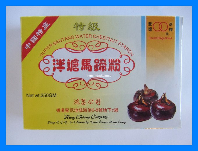 WATER CHESTNUT STARCH ALL NATURAL - USA SELLER