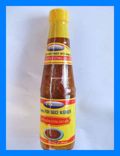 VIETNAMESE FISH SAUCE WITH GINGER - USA SELLER