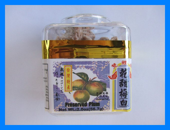 PRESERVED PLUM SWEET & SALTY ASIAN SNACK - USA SELLER