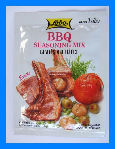 LOBO THAI EXOTIC BBQ SEASONING MIX BARBEQUE - USA SHIP
