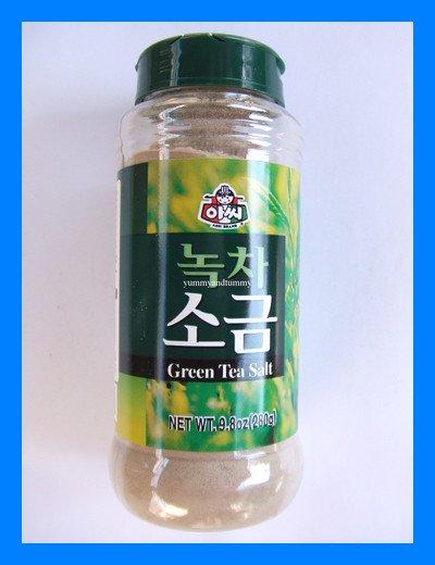 KOREAN GREEN TEA SALT ALL NATURAL - USA SELLER