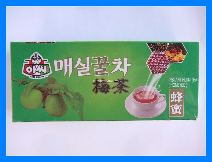 INSTANT CHINESE HONEY PLUM TEA ALL NATURAL - USA SELLER