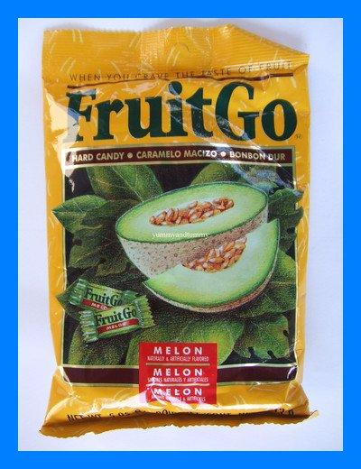 FRUITGO ASIAN MELON FRUIT HARD CANDY - USA SELLER