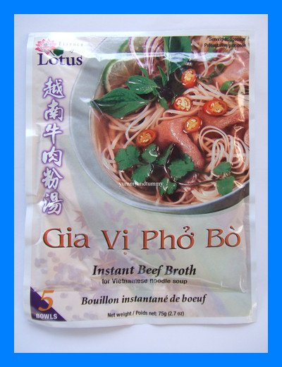 BEEF BROTH FOR VIETNAMESE NOODLE SOUP - USA SELLER