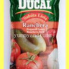 TOMATINA DUCAL BRAND PREPARED SAUCE RANCHERA STYLE - USA SELLER