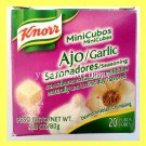 KNORR BRAND GARLIC SEASONING CUBES (20 CUBES) FOR MEAT, FISH, SOUPS, AND MORE