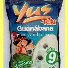 GUANABANA TROPICAL FRUIT DRINK MIX WITH PULP, WITH VITAMINS, MAKES 9 QUARTS
