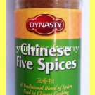 DYNASTY CHINESE FIVE SPICES - A TRADITIONAL BLEND OF SPICES FOR CHINESE COOKING