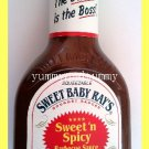 SWEET BABY RAY'S GOURMET SWEET 'N SPICY BBQ BARBECUE SAUCE - USA SELLER