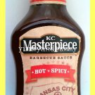 KC MASTERPIECE HOT 'N SPICY BBQ BARBECUE SAUCE - USA SELLER
