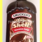 SMUCKER'S MAGIC SHELL CHOCOLATE FUDGE FLAVORED TOPPING - MADE w/ REAL CHOCOLATE