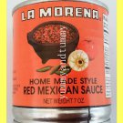 HOME MADE STYLE RED MEXICAN SAUCE, LA MORENA BRAND - USA SELLER