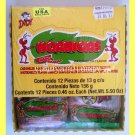 HORMIGAS WATERMELON FLAVOR CANDIES CONFITED WITH BITTERSWEET & SPICY POWDER