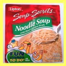 LIPTON NOODLE SOUP WITH REAL CHICKEN BROTH - USA SELLER