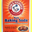 ARM & HAMMER PURE BAKING SODA 1 POUND,  FOR BAKING & HUNDREDS OF USES