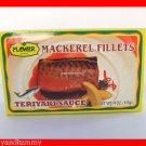 4 CANS THAI MACKEREL FISH FILLETS IN TERIYAKI SAUCE - US SHIP