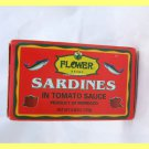 4 CANS MOROCCAN SARDINES IN TOMATO SAUCE - USA SELLER