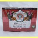 4 PACKS ALL NATURAL BRONCO HERBAL TEA -SOOTHES IRRITATED THROAT