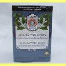 4 PACKS ALFALFA WITH MINT NATURAL HERBAL TEA  RESTORATIVE TONIC