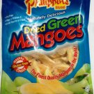 PHILIPPINE FAMOUS DRIED GREEN MANGOES SNACK - FAT FREE HEALTHY
