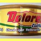4 CANS CHUNK LIGHT YELLOWFIN TUNA IN VEGETABLE OIL, OMEGA 3 - USA SELLER